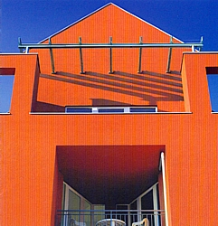 Fassadenfarbe terracotta